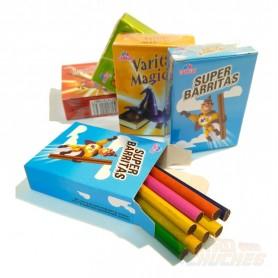 Lápices o antiguos cigarrillos de chocolate (8 unidades)