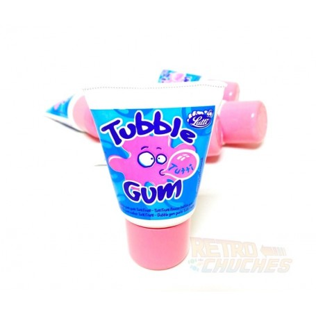 Tubble Gum Tutti Frutti Tubo de Chicle