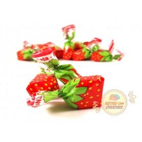 Caramelos de Fresa y nata La Asturiana
