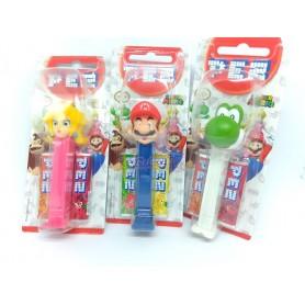 PEZ Expendedor de Caramelos Dextrosa Super Mario Bros