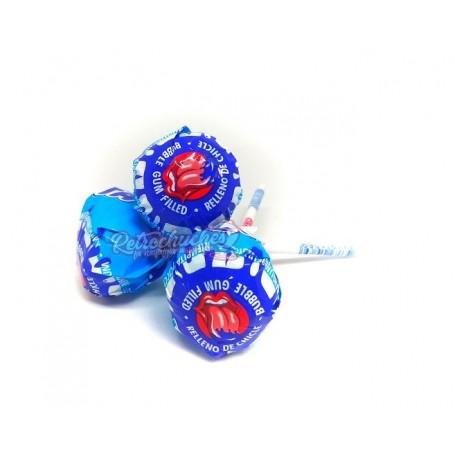Kojak Chupa Chups Pintalenguas sabor Mora Azul