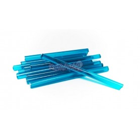 Pajitas o cañitas de Gelatina Azul Blue Tropic