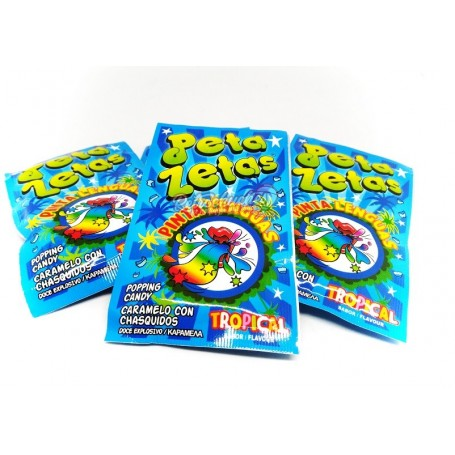 Peta Zetas Azul Pintalenguas sabor Tropical