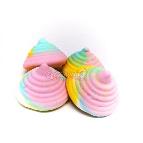 Peonzas Multicolor de Goma Foam al Peso