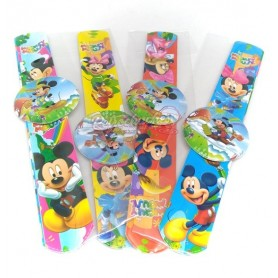 Pulsera Enrrollable Bofetada o Slap Mickey