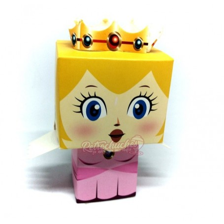 Princesa Peach Caja o Cajita Llena de Chuches