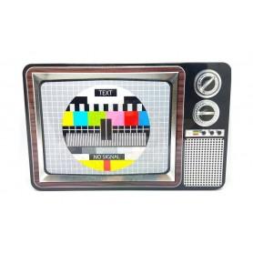 Retropack Caja Televisor Carta Ajuste Metal Chuches y Juguetes