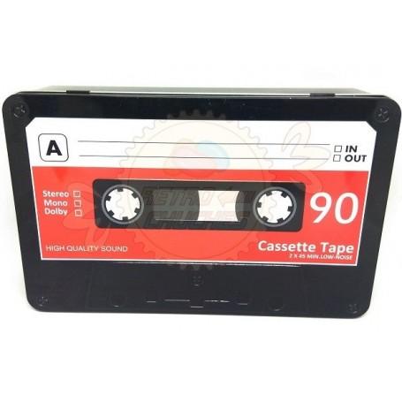 Retropack Caja Cinta Cassette Metal Chuches y Juguetes