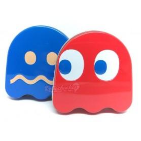 Cajas Caramelo Dextrosa Pac Man Fantasmas Azul y Rojo