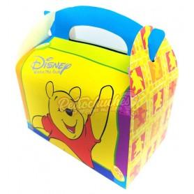 Caja Cartón  Winnie the Pooh Cumpleaños Vacía