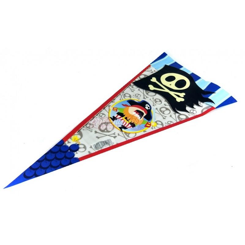 81adea528 Cono de plástico para chuches de Cumple de Piratas Vacío