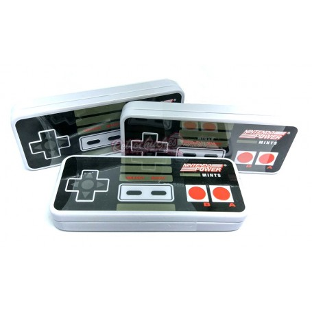 Caja Caramelos Menta Mando NES Nintendo