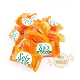 Caramelos Selz soda sabor naranja