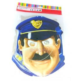 Caretas Cartulina Personajes Clásicos policia