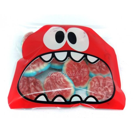 Bolsa Monstruo para Halloween con Cerebros de Gominola