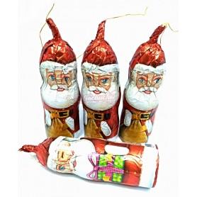 Papa Noel de Chocolate Simon Coll Mediano con Cuerda