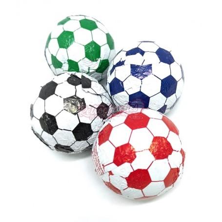 Balones de Futbol de Chocolate Medianos