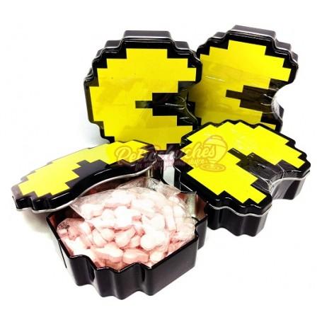 Caja de Caramelos PacMan Metal Sabor Cereza