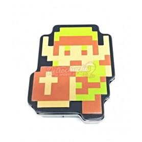 Caja Metal Link Pixel Zelda con Caramelos Espadas de Menta