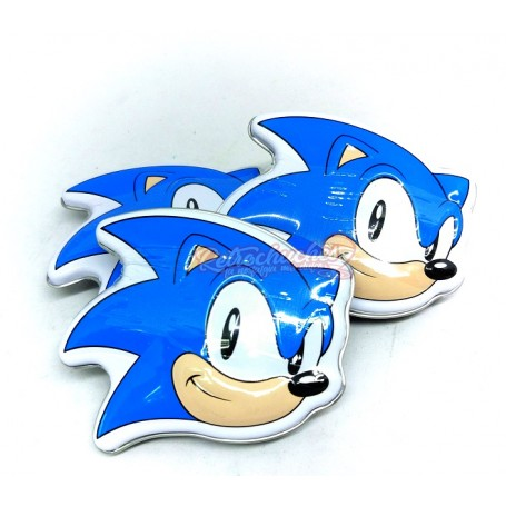 Caja Metal Sonic con Caramelos en Forma de Diamantes
