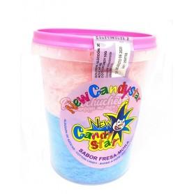 Algodon de Azucar en Cubo 50 gr Rosa y Azul