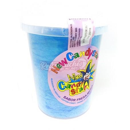 Algodon de Azucar en Cubo 50 gr Azul