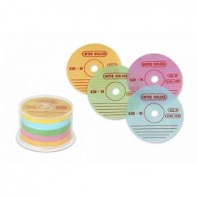 Obleas con forma de CD Colores Surtidos 200 ud