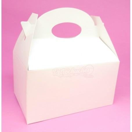 Caja Cartón Para Chuches Lisa Blanca vacía