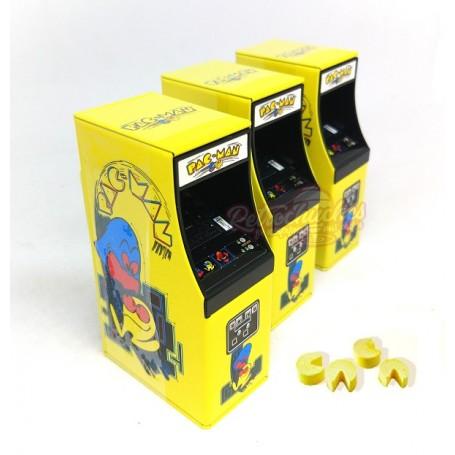 Caja de Caramelos Maquina Recreativa Arcade PacMan