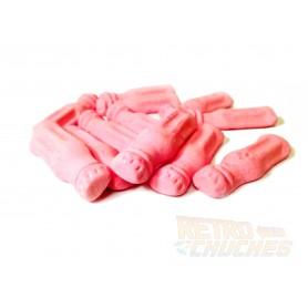 Batidos de fresa foam