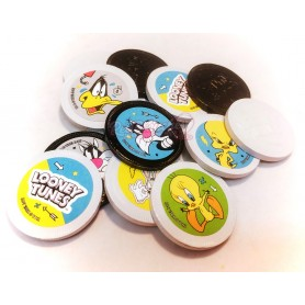 Monedas de Chocolate Blanco y Negro de Looney Toons