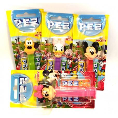 PEZ Expendedor de Caramelos Dextrosa mickey y amisgos