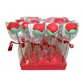 Brocheta en Forma de Rosa o Flor Esponjita