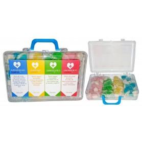 Botiquin o Maleta Pequeño Relleno de Mini Besitos Gominola