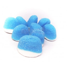 Besitos de Gominola Azules Sabor Cereza al Peso