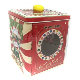 Caja Metálica Bombonera Retro Vintage Chicles Vacía