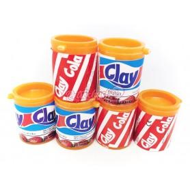 Refres Clay pica pica Fresa y Cola