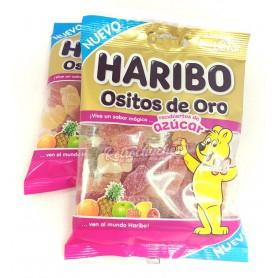 Ositos de Gominola Haribo Oro Recubiertos de AzúcarBolsa 100g