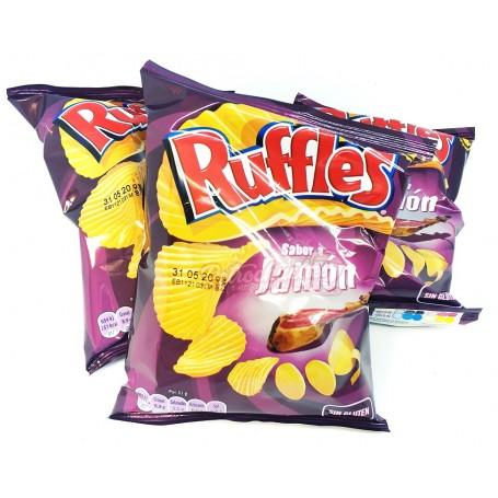 Patatas Rufles Matutano Onduladasal Jamón
