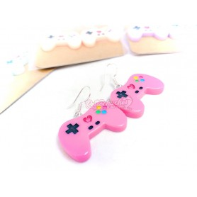 Pendientes Retrochuches Mando Game Play