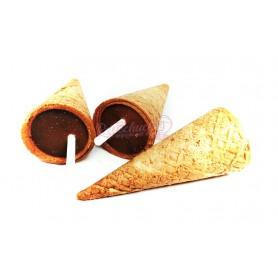 Cono o paraguas de Chocolate con Barquillo