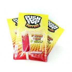 Push pop Dipper caramelo para mojar en pica con Chasquidos