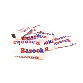 Bazooka Chicle Original Sabor Fresa