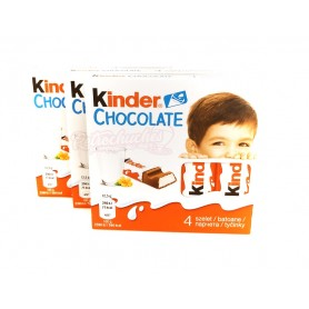 Kinder Chocolate Barritas 4u