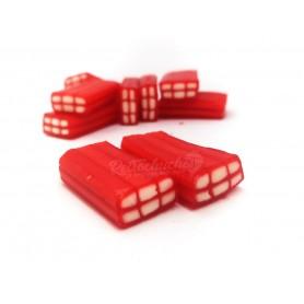 Ladrillos Rellenos de Regaliz Rojo