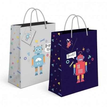 Bolsa Regalo Robots M