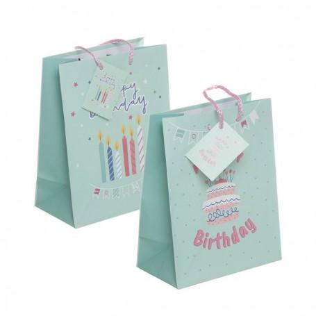 Bolsa Regalo  Feliz Cumpleaños M
