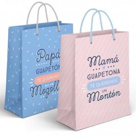 Bolsa Regalo Papa / Mama XL