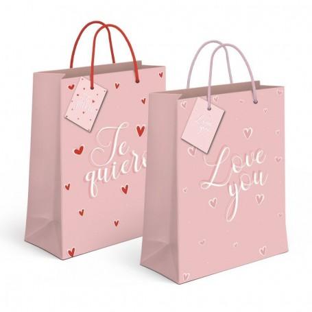 Bolsa Regalo Love you / Te Quiero XL