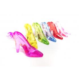 Zapatos de tacon o tacones de la Suerte de plástico Colgantes Grande